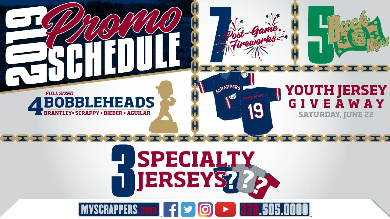 Scrappers Release 2019 Promotional Schedule | Mahoning
