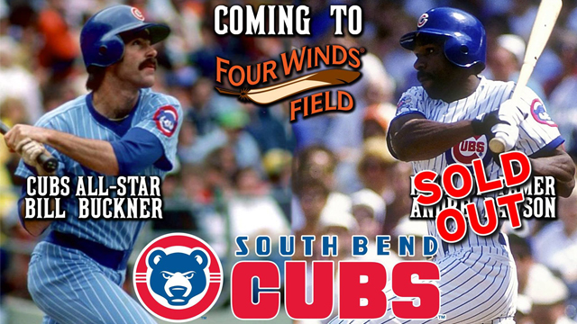 Limited 2017 celebrity series vip tickets still available south meet former chicago cubs players bill buckner and andre dawson in a special vip meet and greet this season m4hsunfo