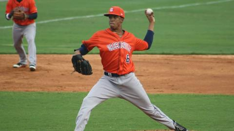 LHP Christopher Lee earned the playoff win for the Astros on Monday night.