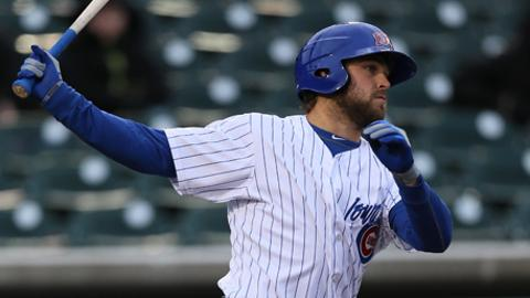 Brett Jackson had three hits, including two doubles, for the Cubs on Sunday at Reno.