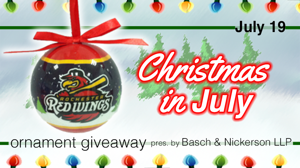 Christmas in July returns July 19 | Rochester Red Wings News