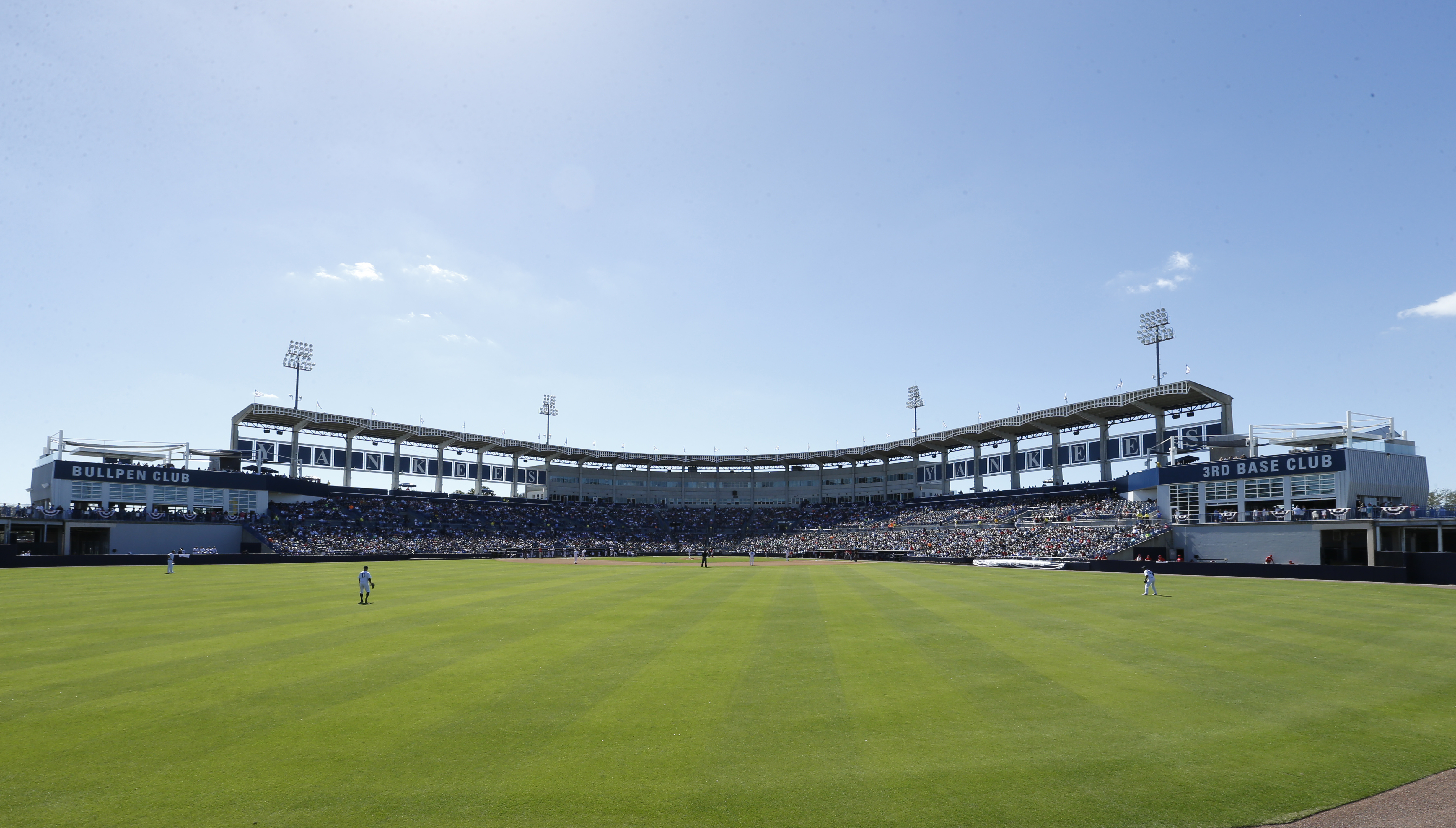 Regardless Of Your Preference For The Traditional Baseball Experience Or A Lavish Day At Ballpark George M Steinbrenner Field Has Everything You Need