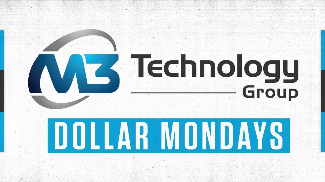 Dollar Mondays media wall