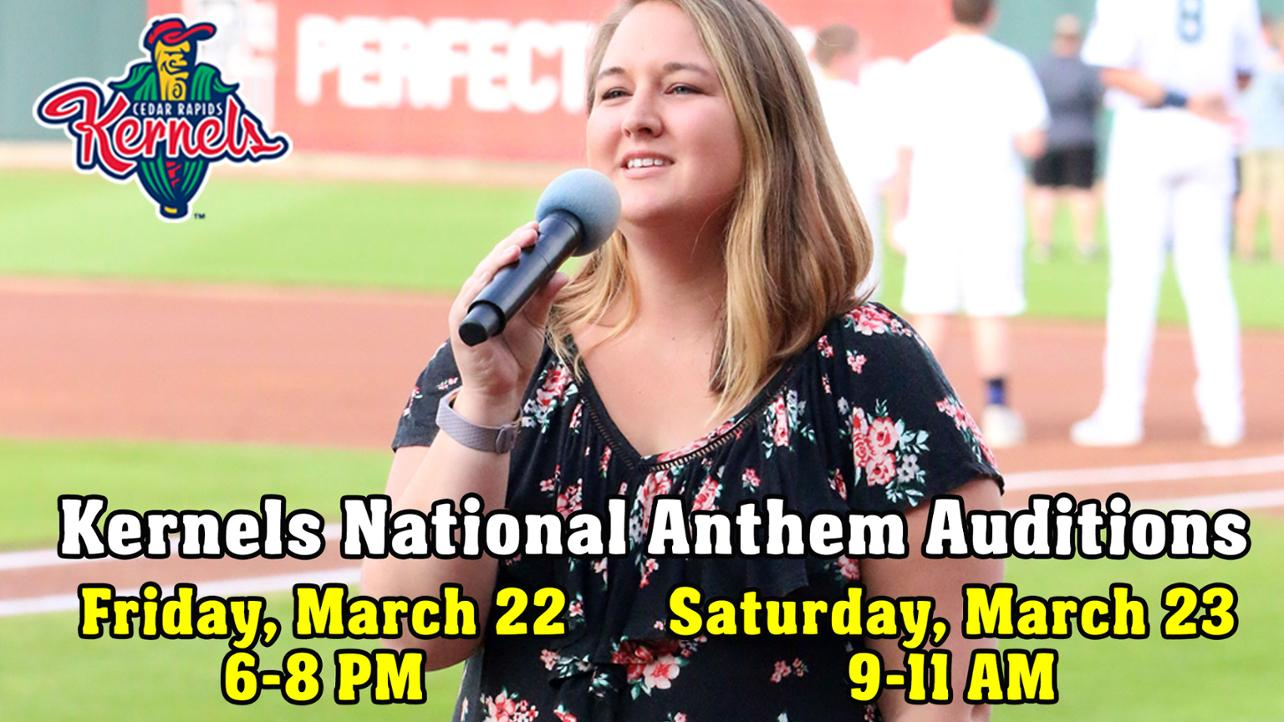 2019 National Anthem Auditions