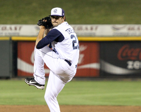 Nick Tropeano now leads the Texas League with 130 strikeouts