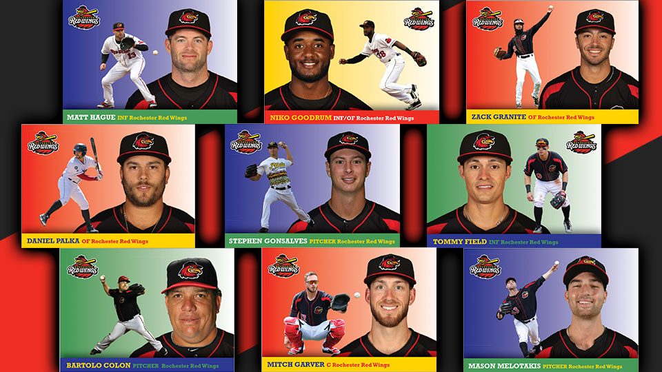 Update Card Set Giveaway Aug 26 Rochester Red Wings News