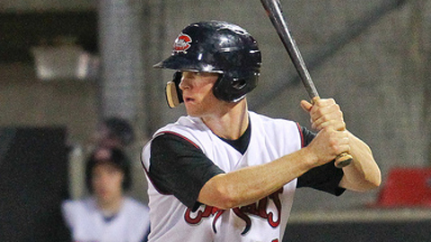 Joe Wendle recorded 53 extra-base hits in 107 games this year.