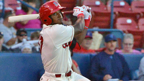 Jamie Jarmon collected two hits and two RBI.