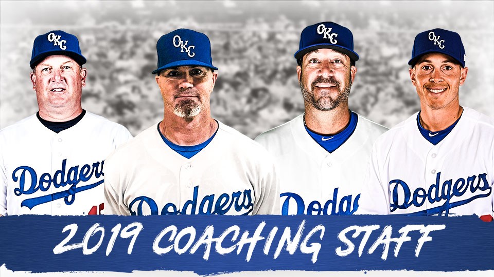 OKC Dodgers Announce 2019 Coaching Staff