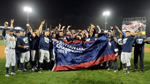The Trenton Thunder won all six postseason games.