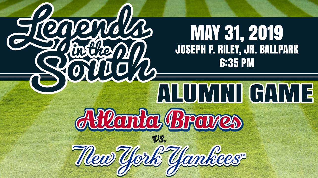 Fourth Annual 'Legends in the South' Braves-Yankees Alumni Rosters Announced