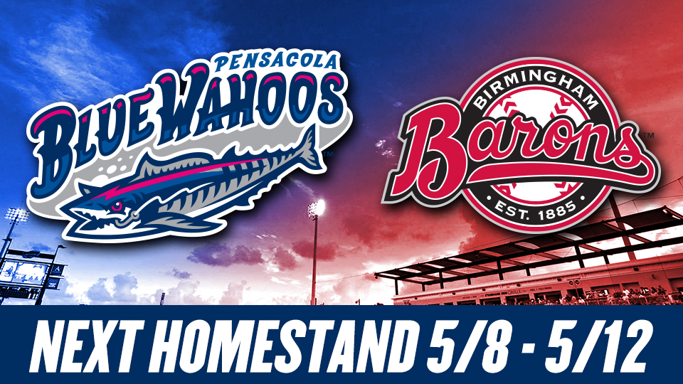 6f65d43d5bd Blue Wahoos Homestand Highlights May 8-12
