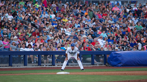 The Tulsa Drillers were named the Texas League's Organization of the Year after paid attendance totaled over 400,000 at ONEOK Field in 2013.