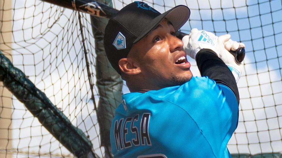 c67207a14 Cuban outfielder Victor Victor Mesa received the largest signing bonus the  Marlins have ever given to a position player.