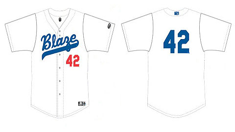 The Blaze will celebrate Jackie Robinson by auctioning special throwback uniforms for charity.