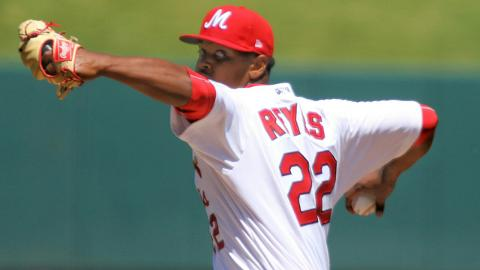 Alex Reyes averaged 13 strikeouts per nine innings in 14 starts for Memphis last season.