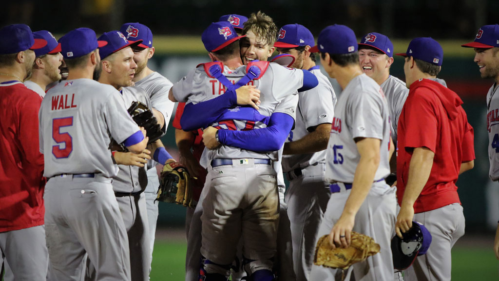 Zeuch charges to rare no-hitter for Bisons