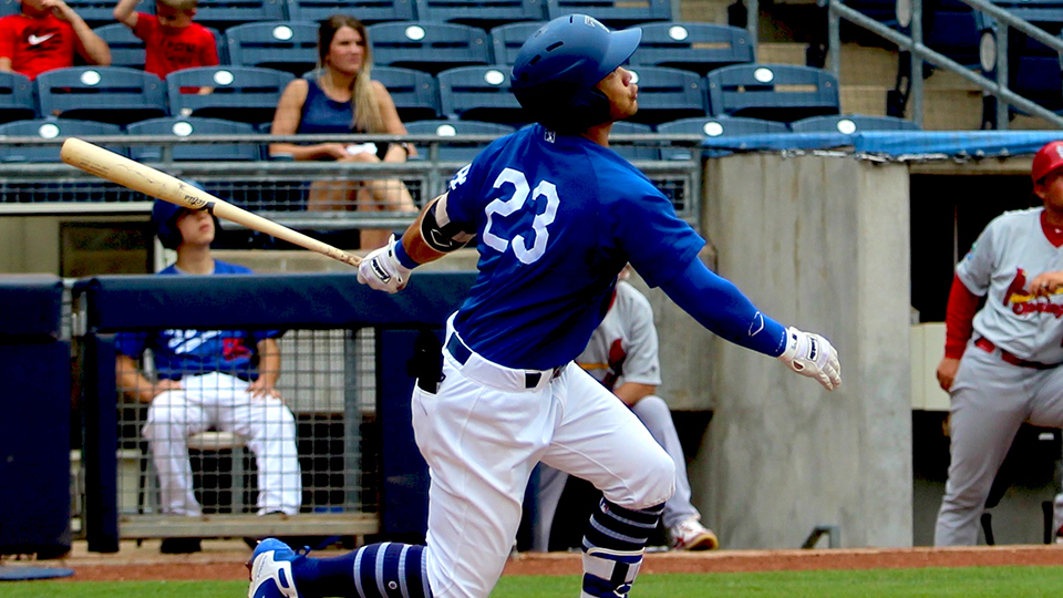 No Late Rally for Drillers in 2-1 Loss to Cards | Tulsa Drillers News