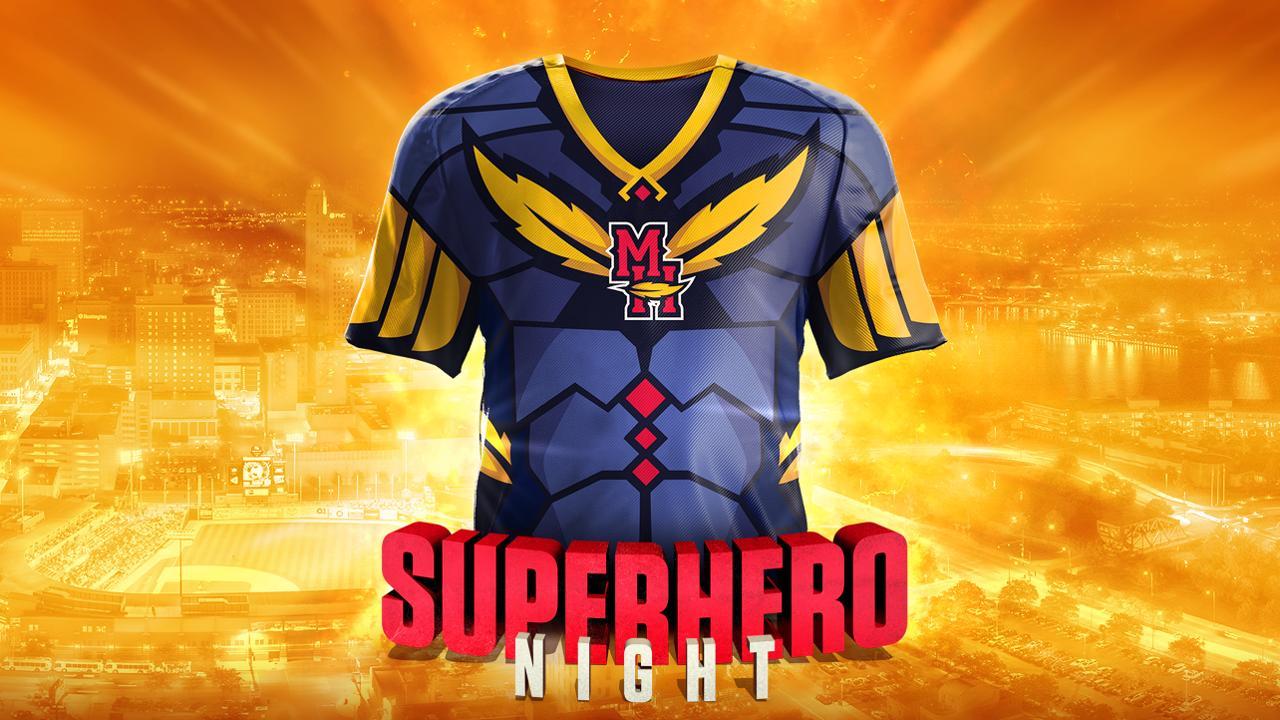 b398dd1a753 Defeat evil on Superhero Night: Friday, Aug. 3   Toledo Mud Hens News