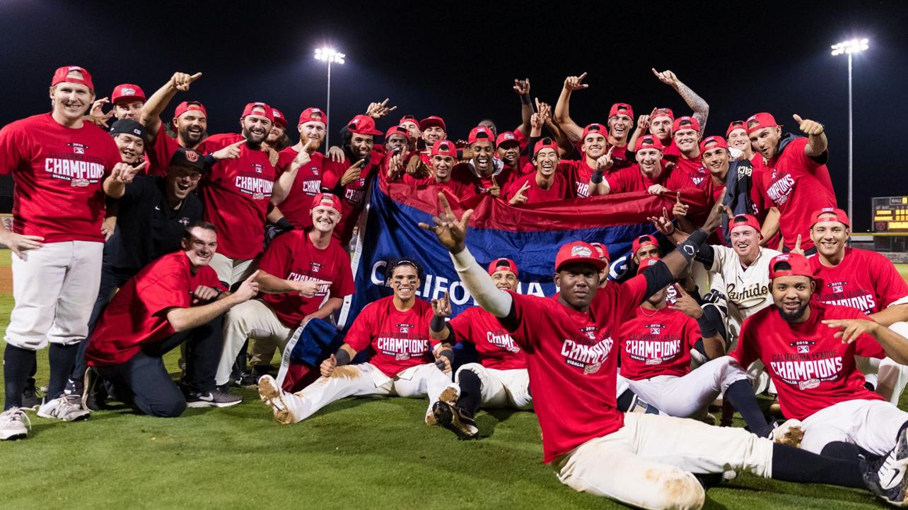 Rawhide Win California League Championship