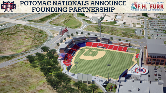 Potomac Nationals Announce Fhfurr As New Stadium Founding Partner