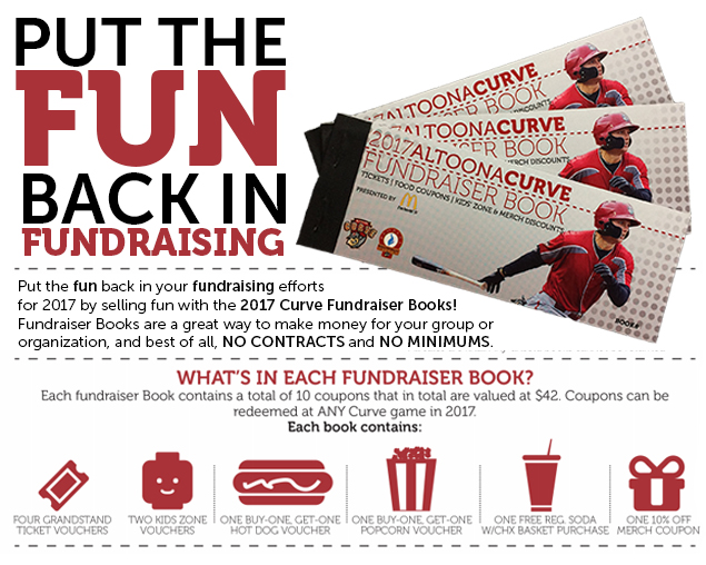 Fundraiser Booklets & Fundraising | Altoona Curve Tickets