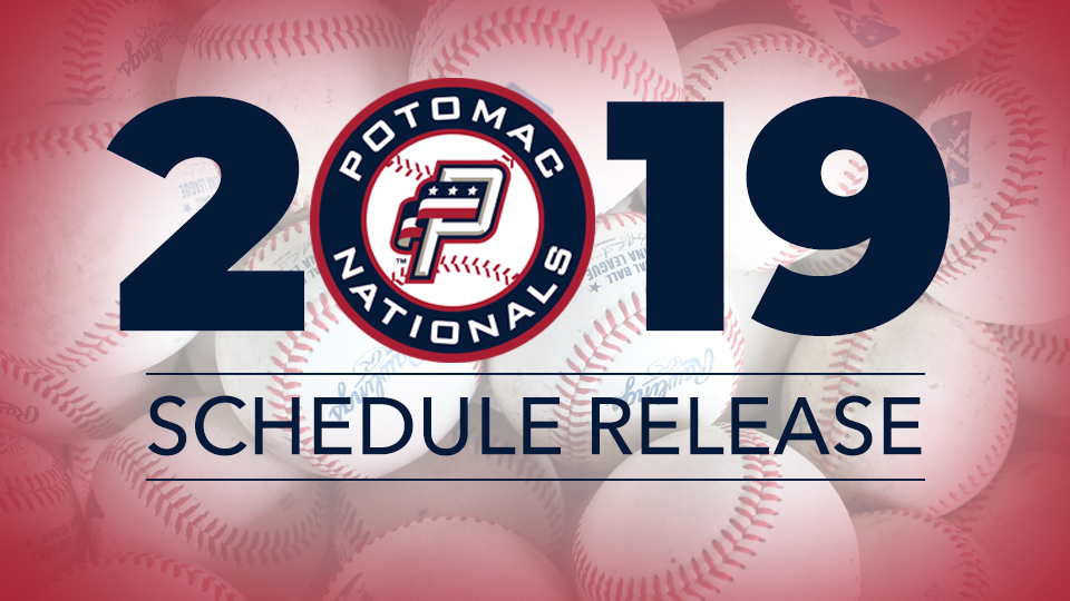 picture regarding Houston Astros Printable Schedule named Potomac Nationals Unveil 2019 Carolina League Agenda