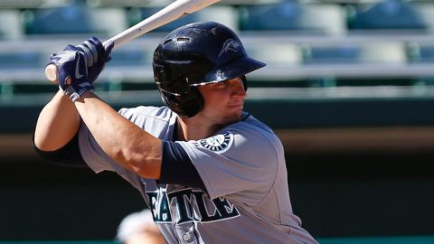 Mike Zunino put together a .360 average between two levels in 2012.