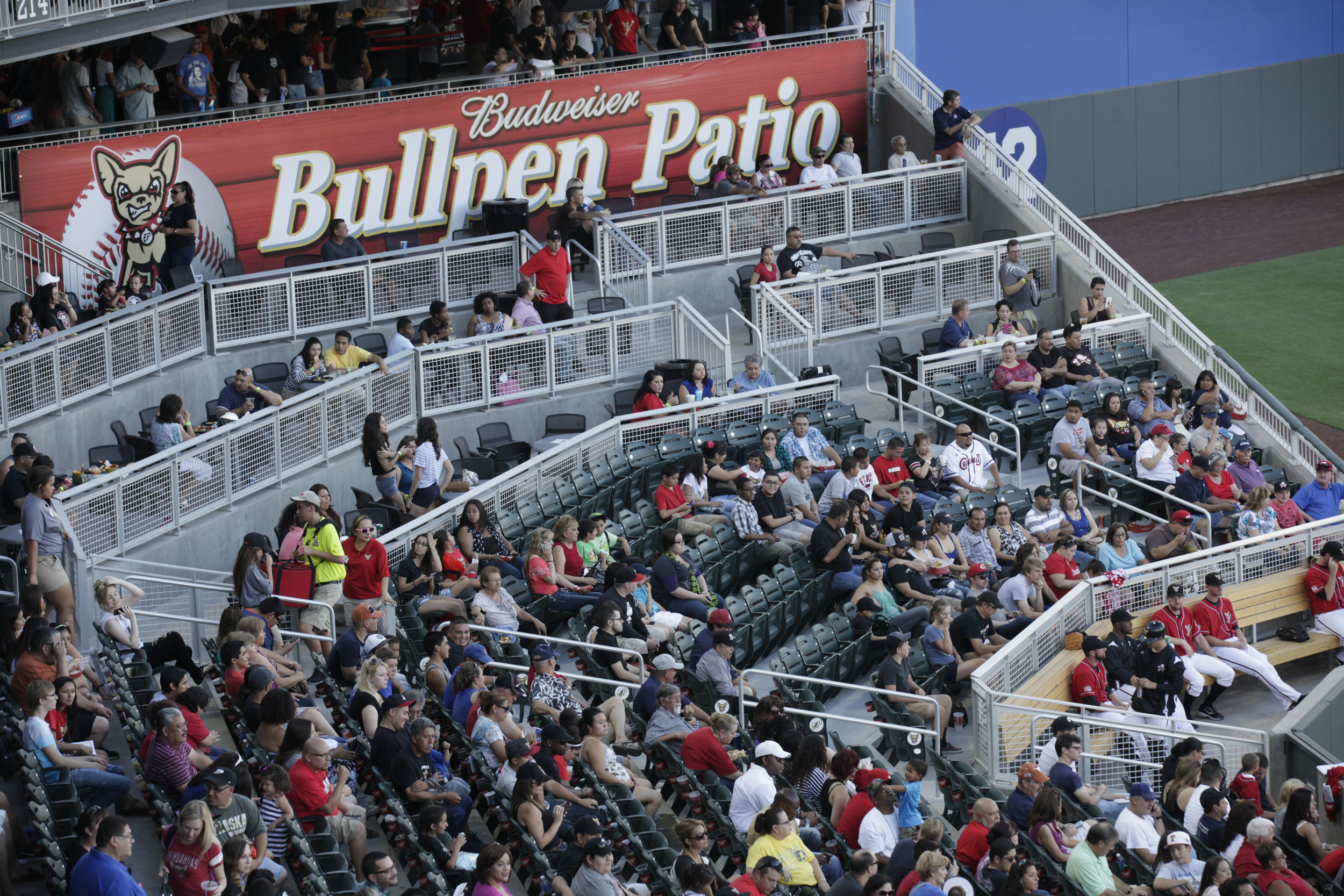 The Budweiser Bullpen Patio