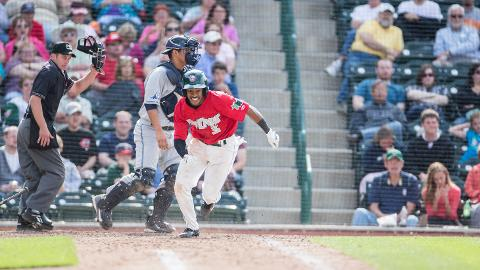Mallex Smith had his second straight two-hit game Thursday in Wisconsin.
