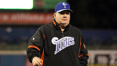 Ron Johnson returns to Norfolk in 2014 after leading the Tides to a 77-67 mark in 2013.