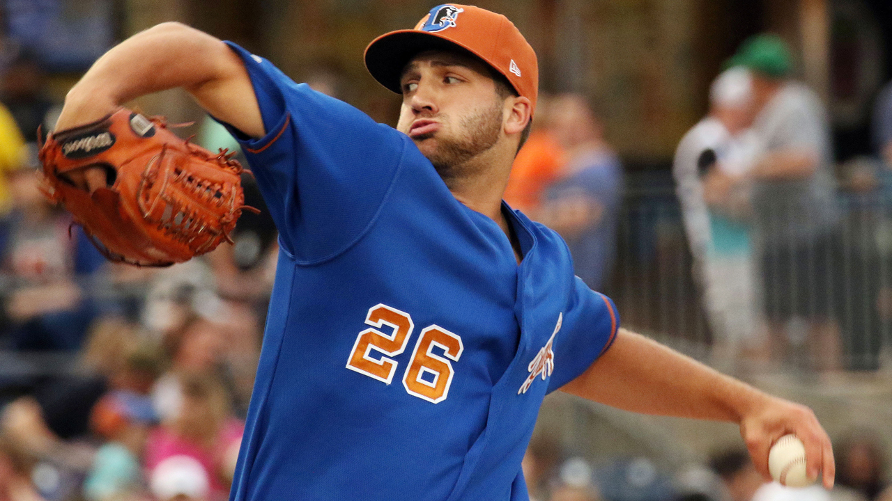 f8985f9a2022c Colin Poche posted a 0.99 ERA in his 26 relief appearances with Triple-A  Durham after heading to Tampa Bay in May. (Durham Bulls)
