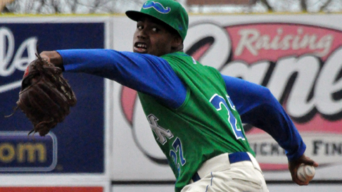 Miguel Almonte is 1-3 with a 4.13 ERA in 24 innings this year for Lexington.