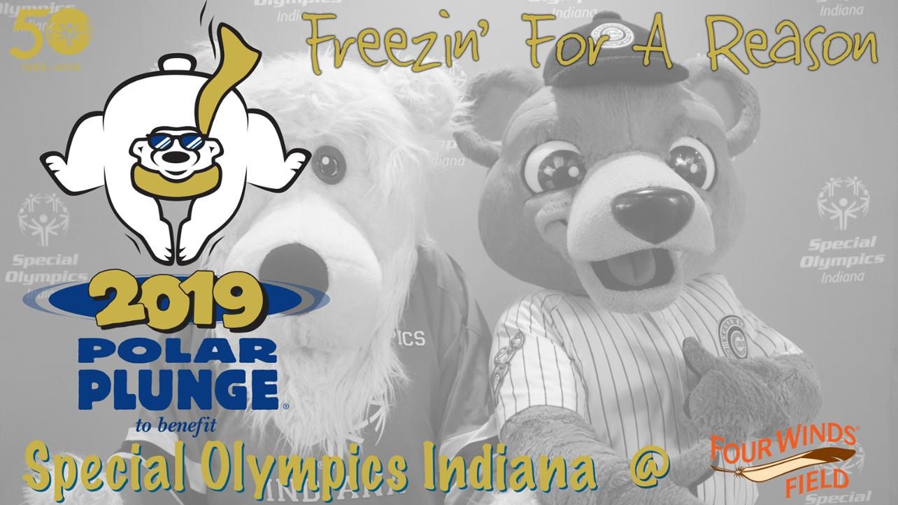 South Bend Cubs Host Third Annual Polar Plunge