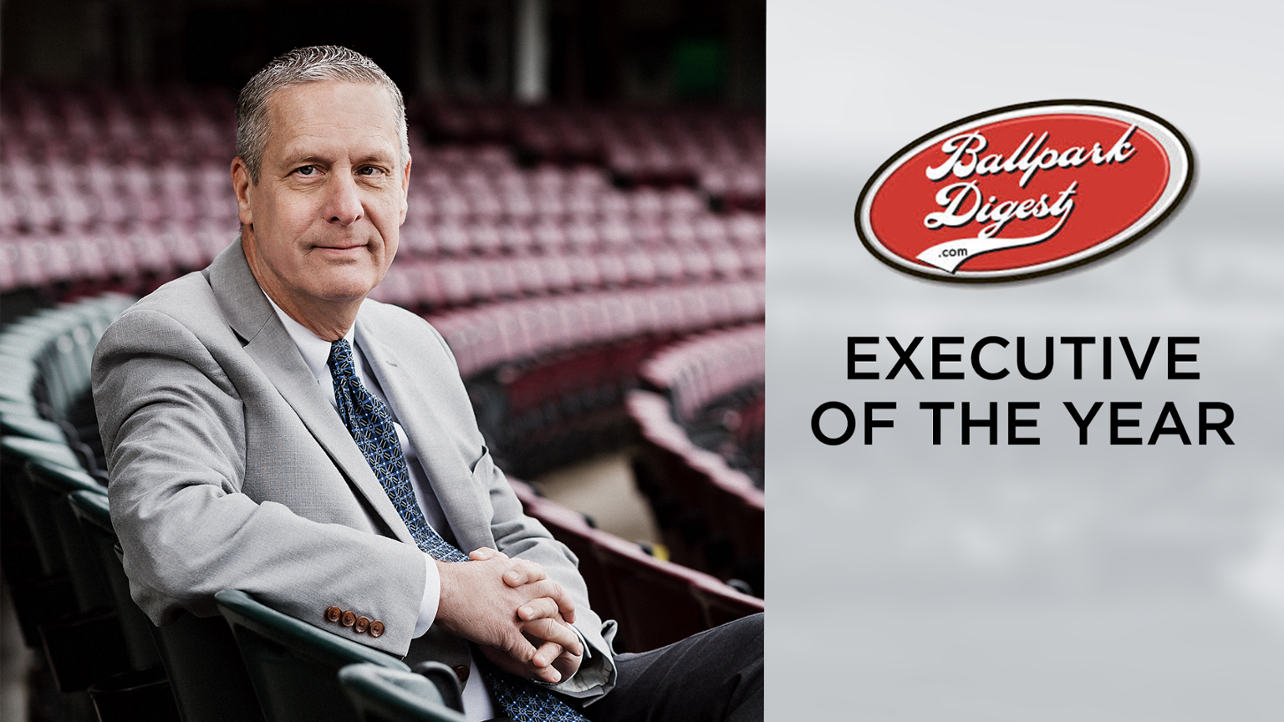 Dragons President Robert Murphy Named Executive of the Year by Ballpark Digest