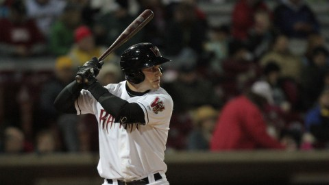Catcher Clint Coulter was voted to be the Timber Rattlers 2013 Fans' Choice Bobblehead.