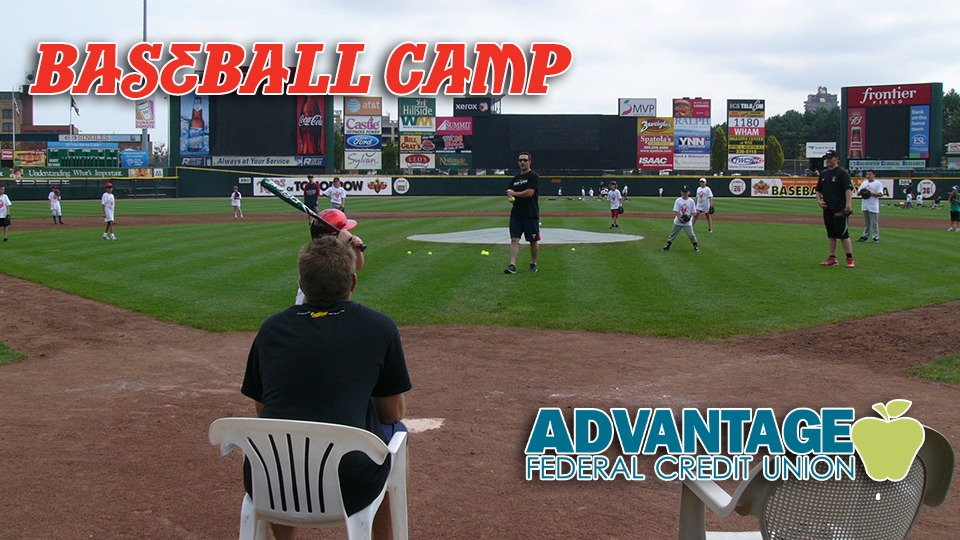2017 Red Wings Baseball Camp, July 19-20 | Rochester Red Wings News