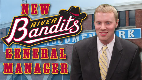 """I am extremely excited about taking on the role of General Manager of the River Bandits,"" Chesser said."