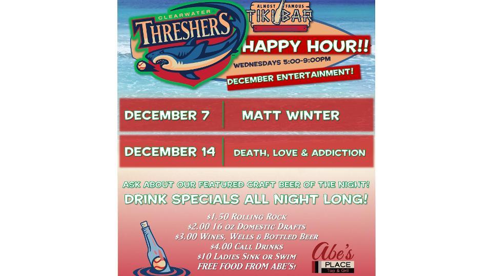 Happy Hour Wednesdays at Frenchy's Tiki Pavilion in Bright