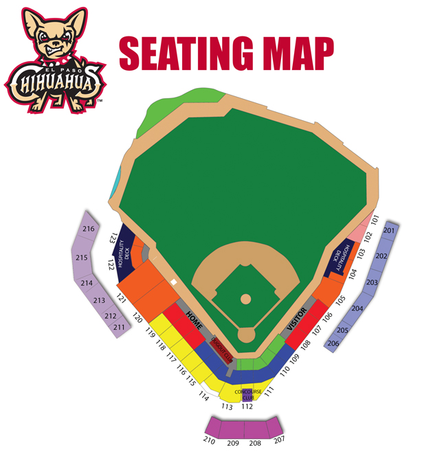 chihuahua baseball tickets season seat map and benefits el paso chihuahuas tickets 974