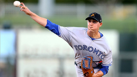 Aaron Sanchez is a name to watch for in a Fisher Cats uniform in 2014.