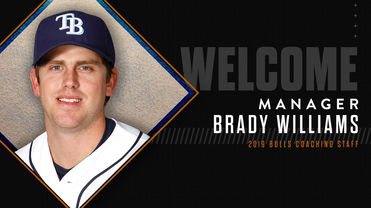 Brady Williams Named New Bulls Manager