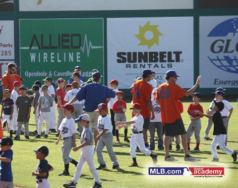 This year's baseball camp will run from June 16-18