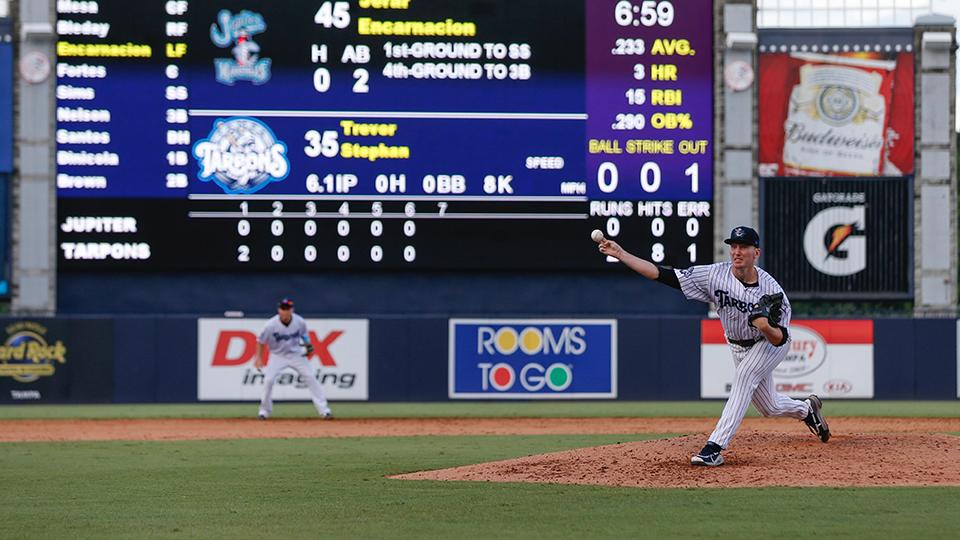 Stephan cruises in Tarpons' no-no | Florida State League News