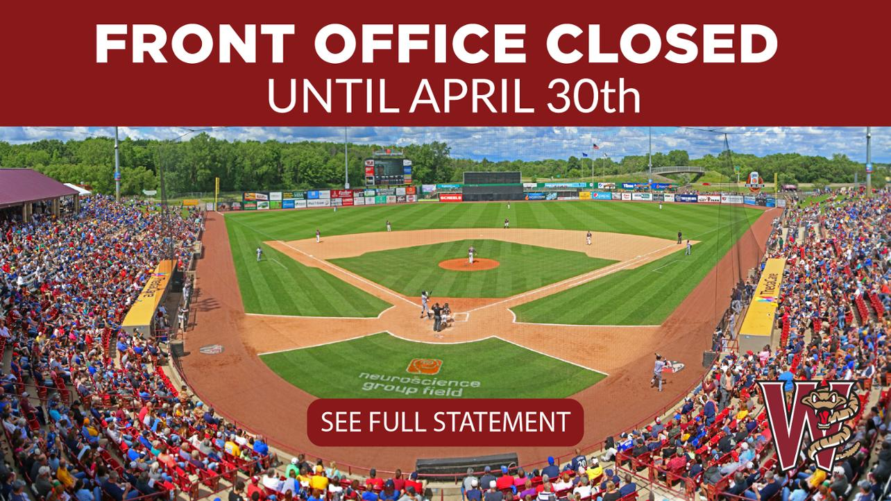 Office Closed Until April 30th
