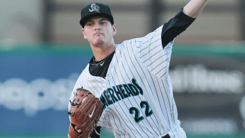 Justin Nicolino has a 2.70 ERA in four starts for the Hammerheads.