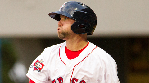 Bryce Brentz is batting .272 with 32 extra-base hits at Triple-A.