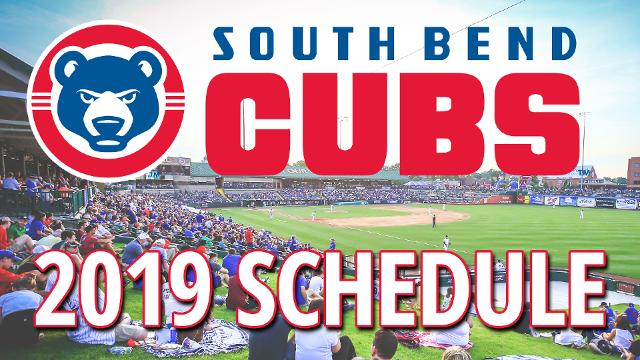 South Bend Cubs Release 2019 Schedule | South Bend Cubs News