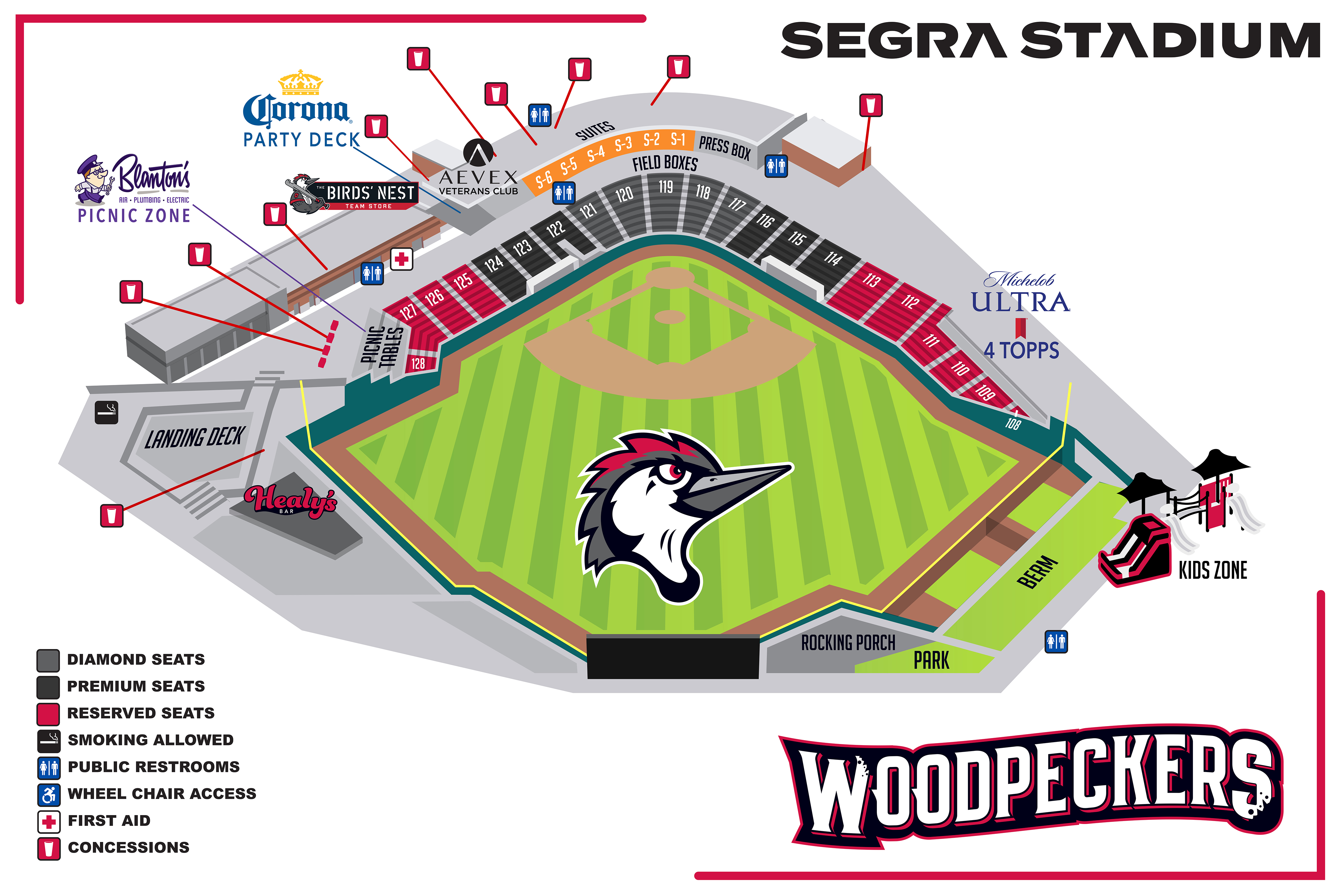 Tickets Fayetteville Woodpeckers Nc Minor League