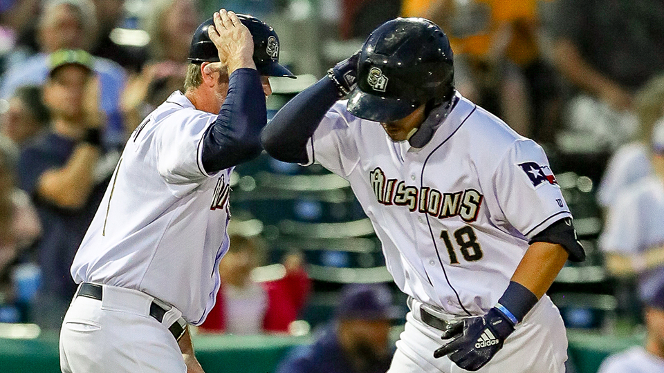 Hiura Goes Yard Twice For Missions Milb Com